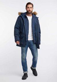 HAWKE&CO - Winter coat - dark blue - 1