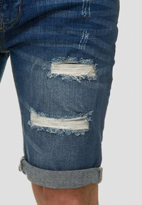 INDICODE JEANS - CUBA CADEN - Short en jean - blau - 3