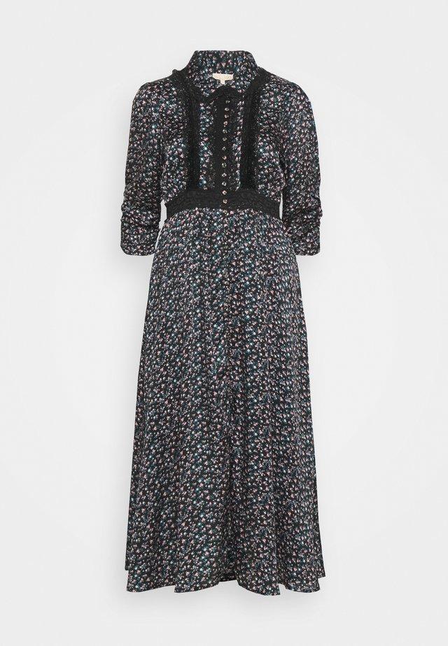 BUTTON DRESS - Abito a camicia - dark blue