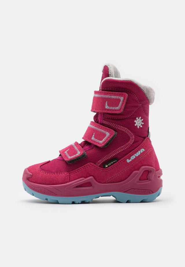 MILO GTX - Zimní obuv - berry