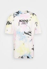 Karl Kani - RETRO TIE DYE TEE UNISEX - Triko spotiskem - multicolor - 4