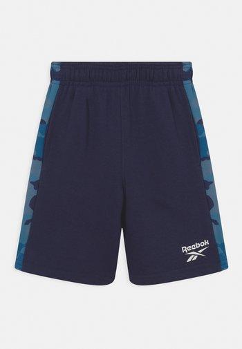 CAMO - Tracksuit bottoms - blue