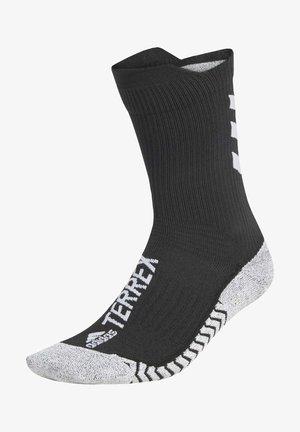TERREX TECHFIT PRIMEGREEN TRAXION CREW SOCKS - Sportsocken - black