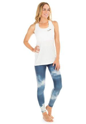 HWL102 AIR HIGH WAIST - TIGHTS - Leggings - blue