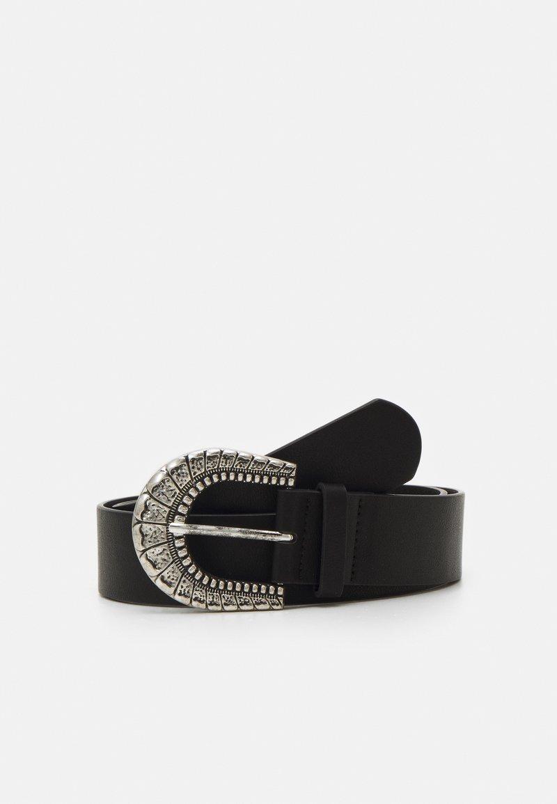 ONLY - ONLBERNADOTTE BUCKLE BELT - Belt - black