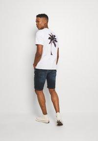 Cars Jeans - BECKER - Denim shorts - blue black - 2