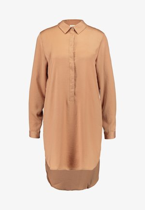 JDYTARA HI LOW LONG - Blouse - camel