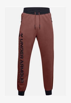 Tracksuit bottoms - cinna red