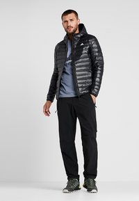 adidas Performance - VARILITE HOODED DOWN JACKET - Veste d'hiver - black - 1