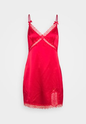 GISELE SLIP - Nightie - red