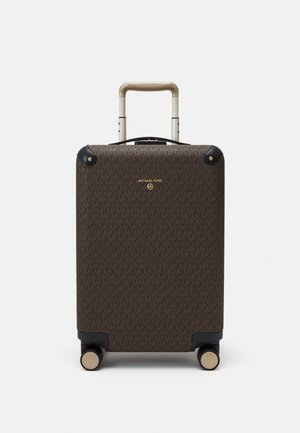 TRAVEL HARDCASE TROLLEY - Wheeled suitcase - brown/black