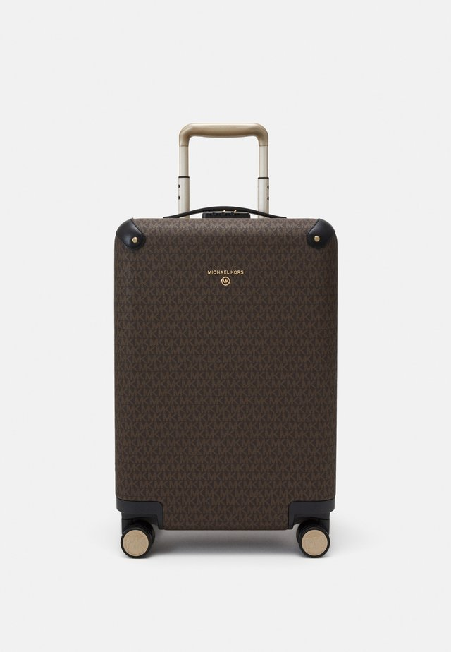 TRAVEL HARDCASE TROLLEY - Trolley - brown/black