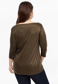 Triangle - MIT WASSERFALL - Long sleeved top - brown - 2