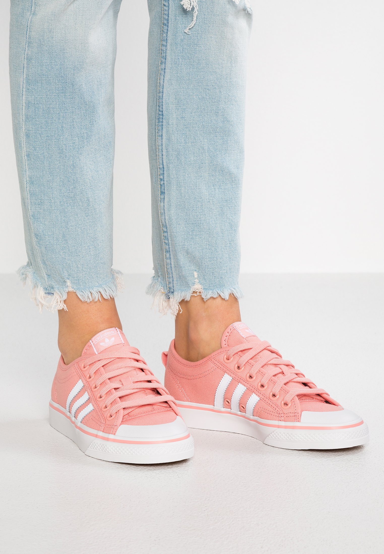 NIZZA - Baskets basses - trace pink/footwear white/crystal white