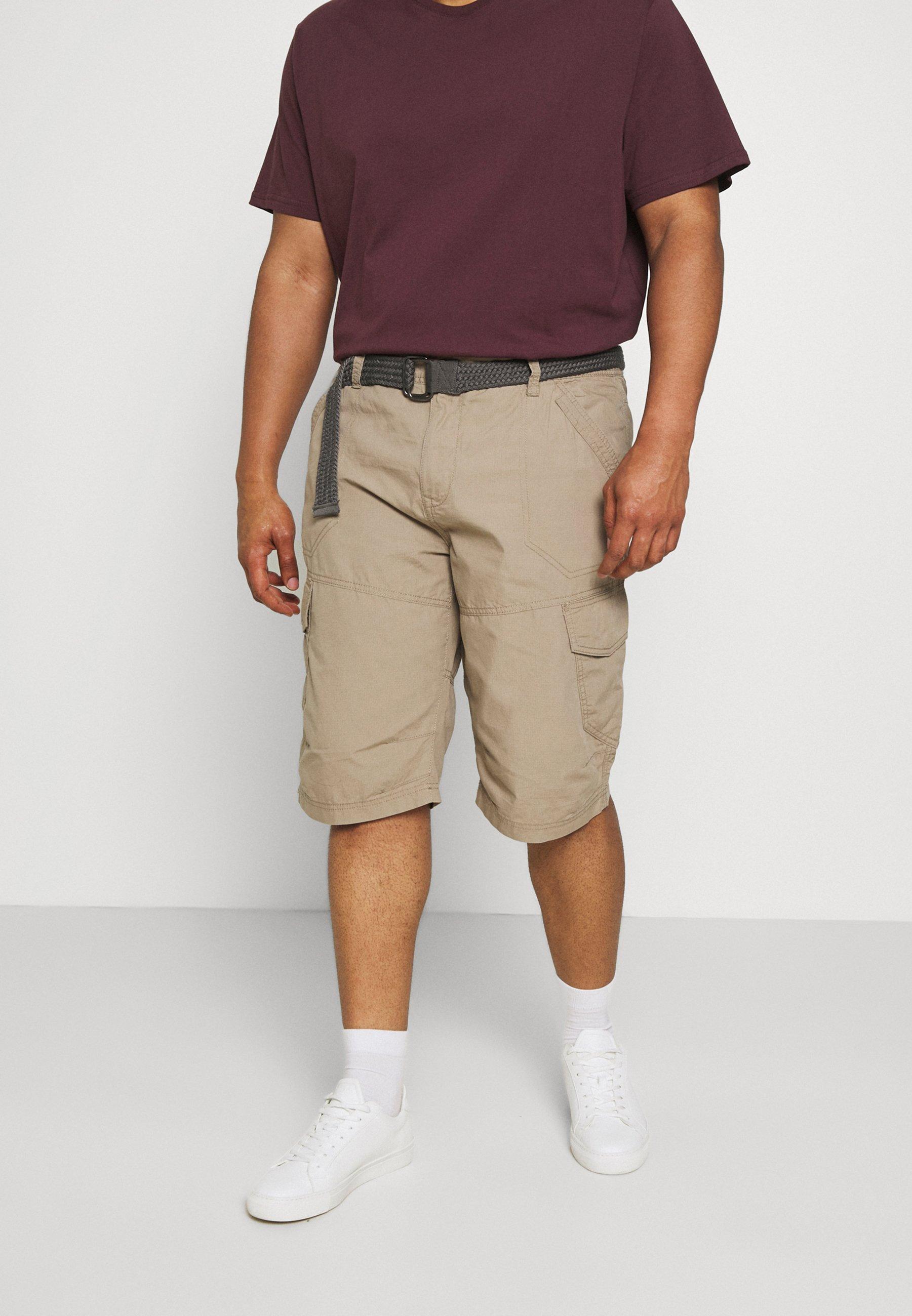 Homme CARGO WITH BELT - Short