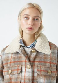 PULL&BEAR - Übergangsjacke - mottled brown - 4