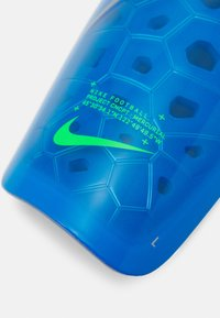 Nike Performance - MERCURIAL LITE UNISEX - Shin pads - photo blue/rage green/silver - 4