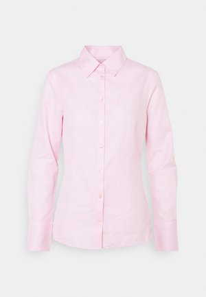 THE FITTED - Button-down blouse - light/pastel pink
