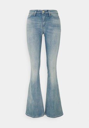 FARRAH - Flared jeans - blue