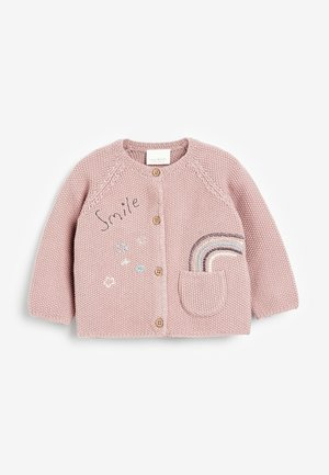 RAINBOW  - Cardigan - mottled light pink