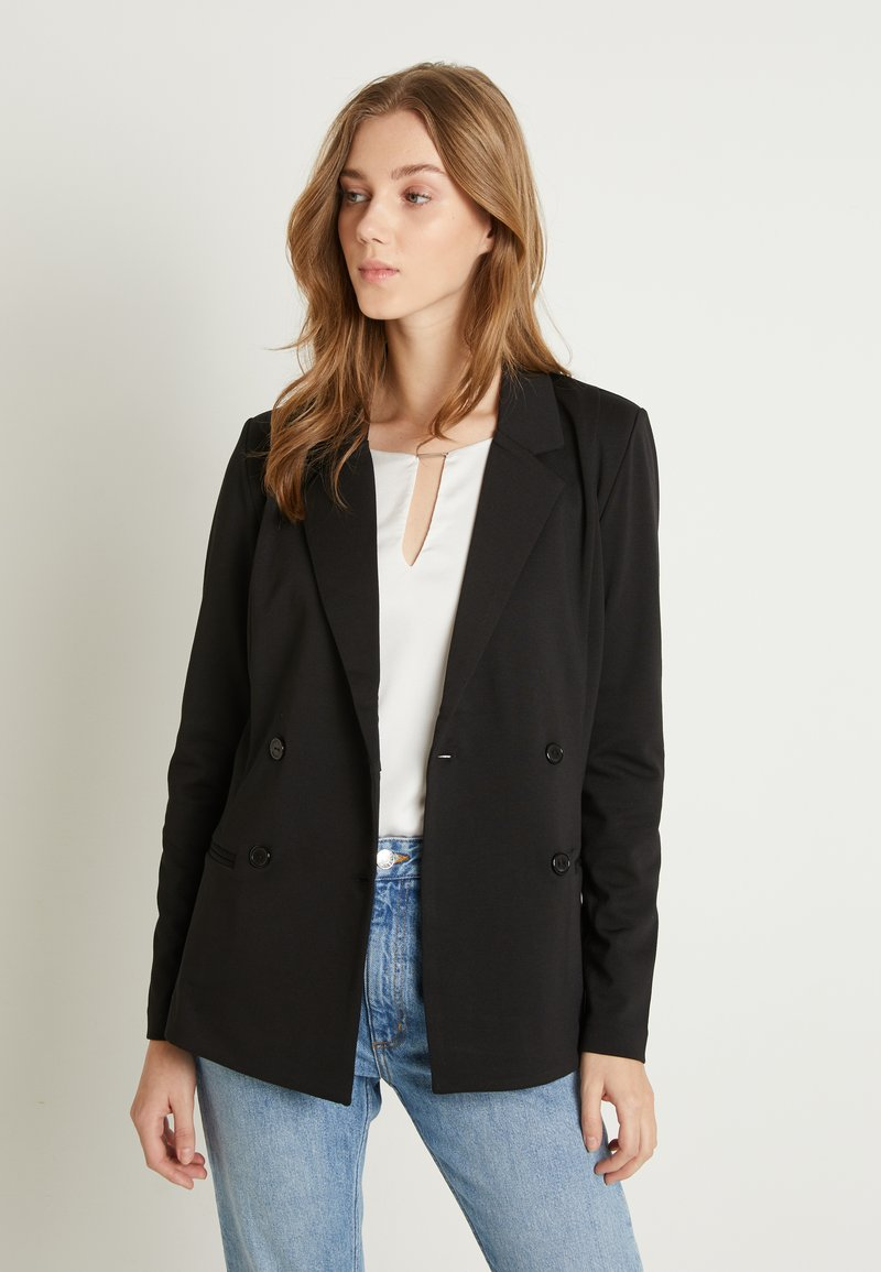 ICHI - KATE DOUBLE BREASTED - Blazer - black