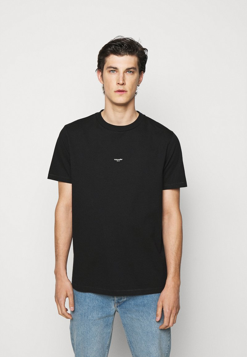 Holzweiler - OSLO TEE - Print T-shirt - black