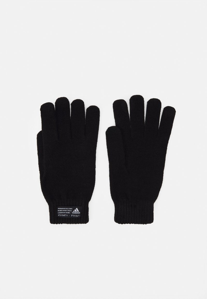 adidas Performance - ESSENTIALS SPORTS GLOVES UNISEX - Rękawiczki pięciopalcowe - black/white