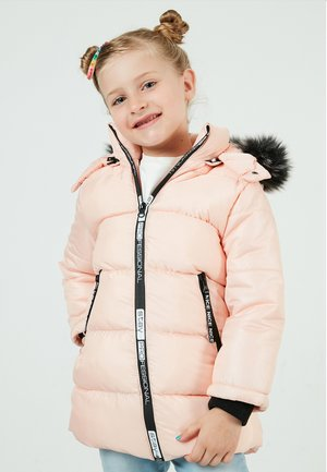 Short coat - powder pink