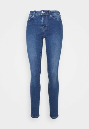 NELA - Jeansy Skinny Fit - used mid stone blue