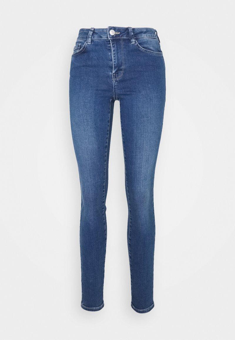 TOM TAILOR DENIM - NELA - Jeans Skinny Fit - used mid stone blue