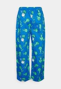 Lousy Livin Underwear - PYJAMA PANT BROCCOLI - Pyžamový spodní díl - directorie blue - 1