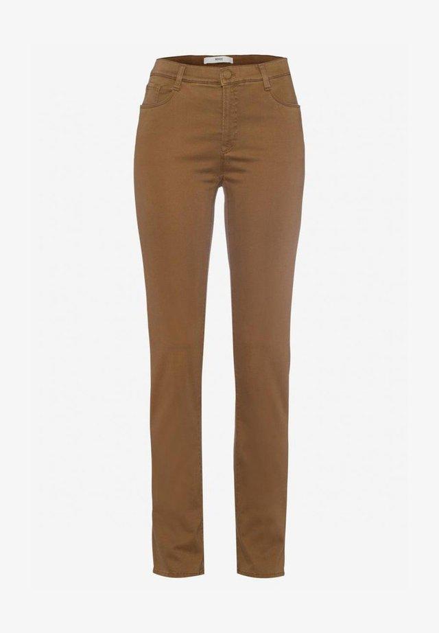 MARY - Jeans slim fit - walnut