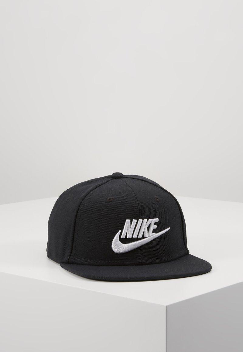 Nike Sportswear - PRO FUTURA 4 SNAPBACK - Lippalakki - black/white