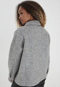 b.young - Summer jacket - light grey melange - 2
