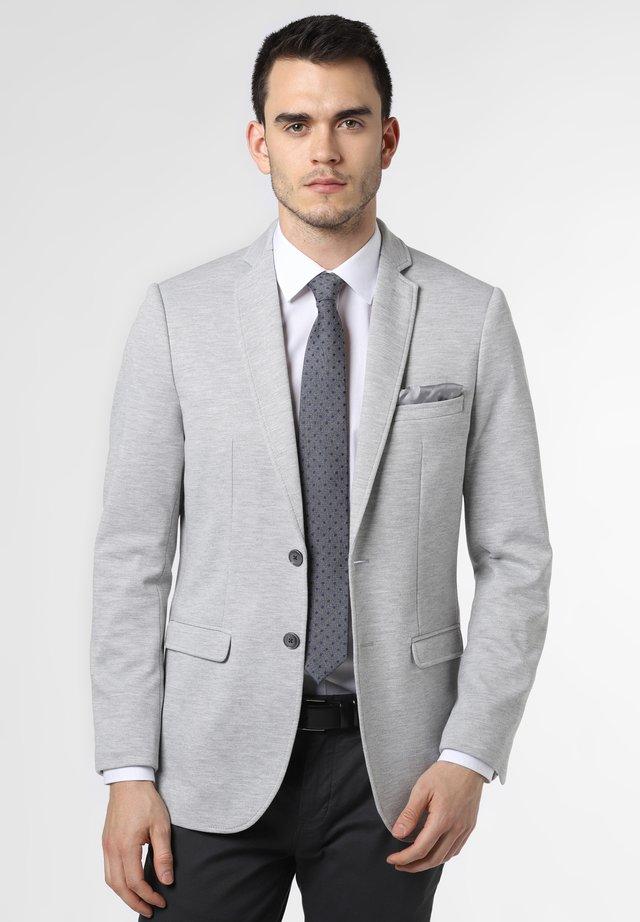 SAKKO BILL - Blazer jacket - silber