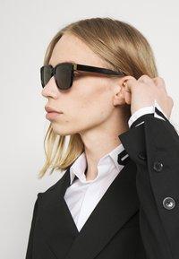 Dunhill - UNISEX - Sunglasses - black/brown - 1