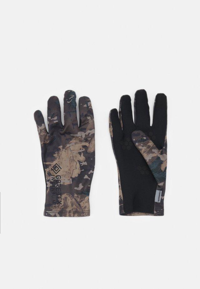 GLOVES UNISEX - Fingerhandschuh - black