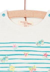 Du Pareil au Même - Print T-shirt - off white - 2