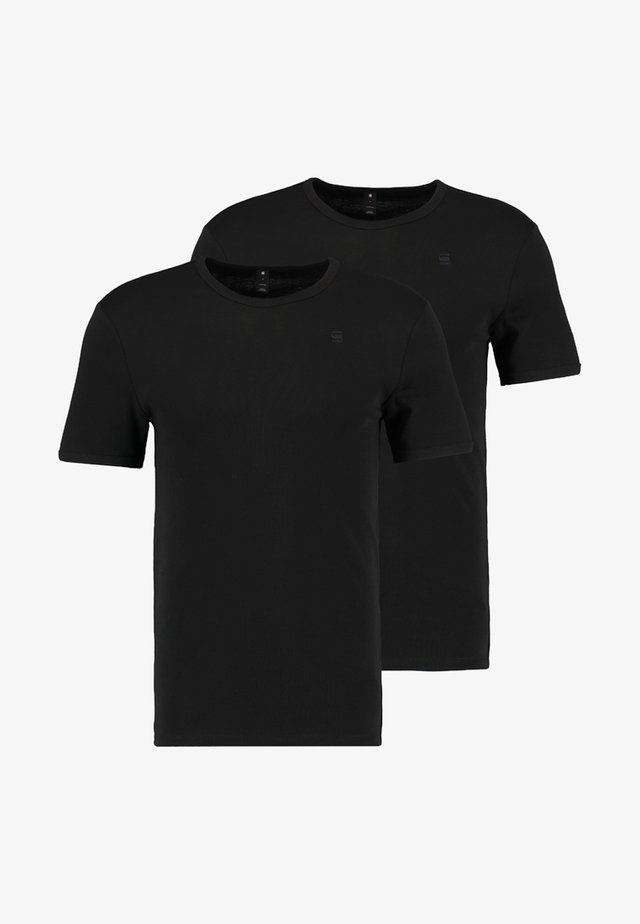 BASE 2 PACK  - T-shirt basic - black