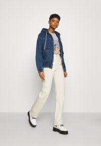 BDG Urban Outfitters - HOODED SKATE JACKET - Jeansjakke - dark vintage - 1
