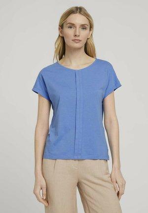FALTENLEGUNG - T-shirt print - sea blue