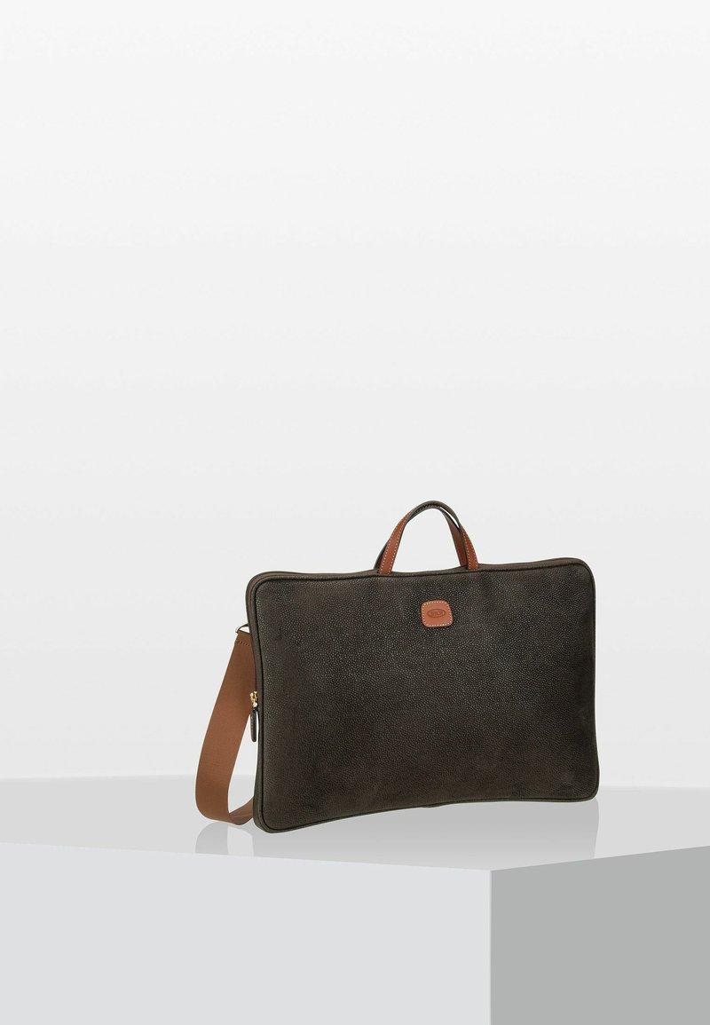 Bric's - Briefcase - olive