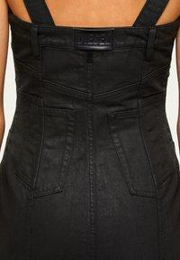 Diesel - VOLCANO - Denim dress - black - 4