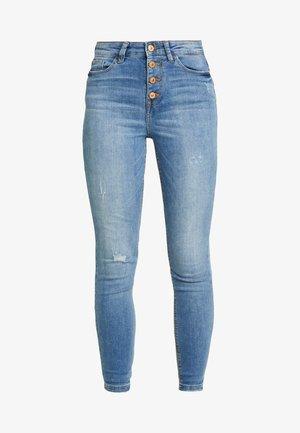 JDYJONA HIGH FLY - Jeans Skinny Fit - light blue denim