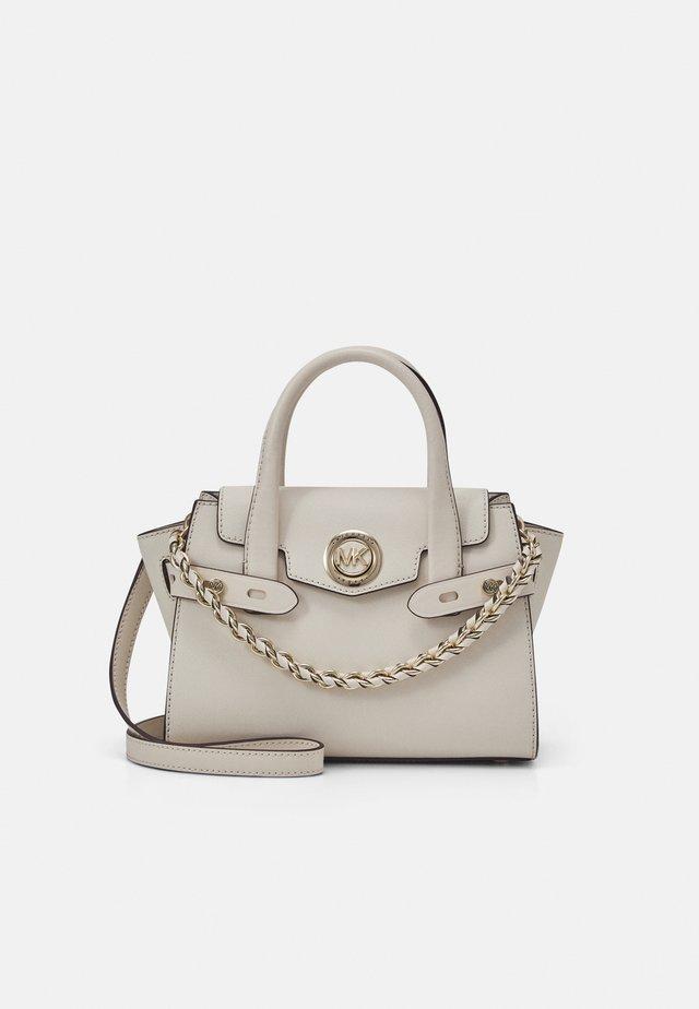 CARMEN FLAP - Handbag - light cream
