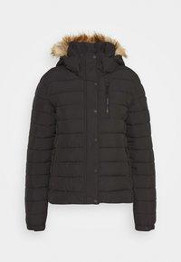 Superdry - CLASSIC FUJI JACKET - Winter jacket - black - 4