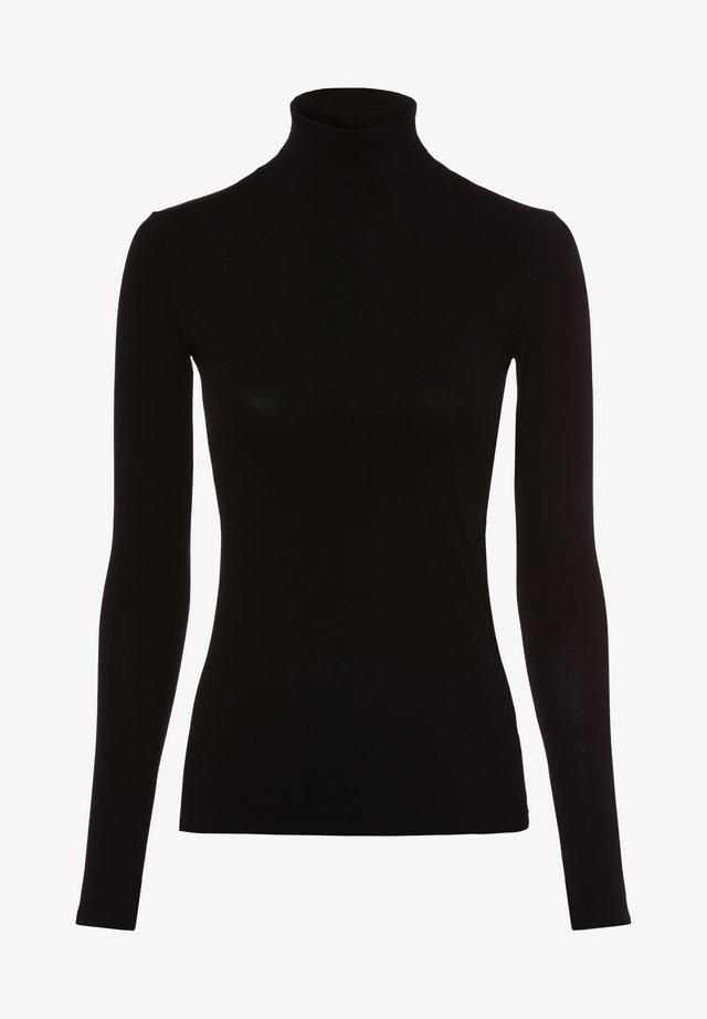 Camiseta de manga larga - schwarz