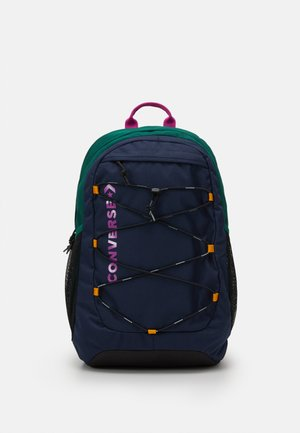 SWAP OUT BACKPACK UNISEX - Reppu - obsidian/midnight clover/cactus