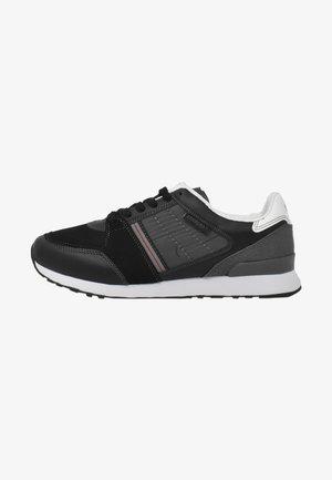 STEAVEN  - Sneakers basse - black red