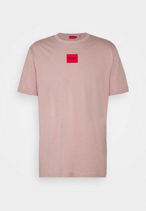 DIRAGOLINO - Basic T-shirt - light/pastel brown
